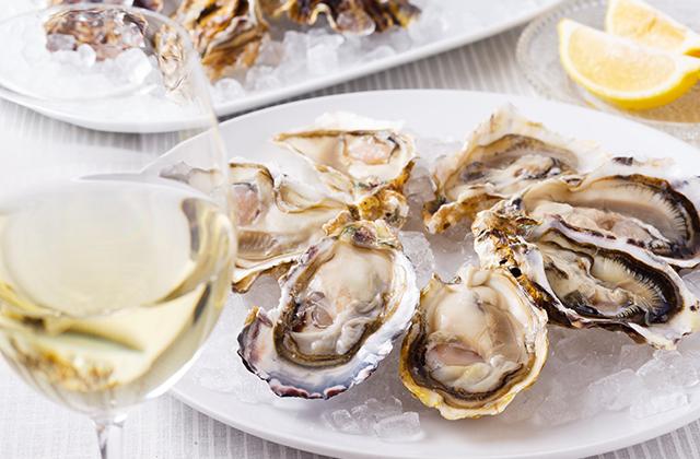 生牡蠣 白ワイン